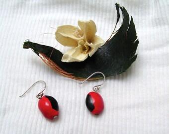 Huayruro Charm earrings
