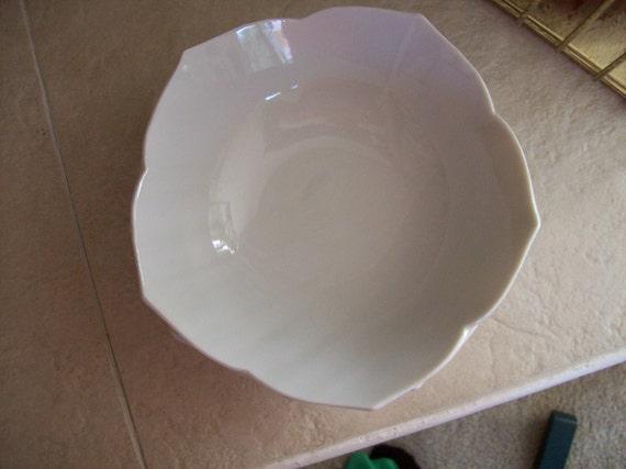 Lovely set of 4 vintage Medium Lotus Bowls
