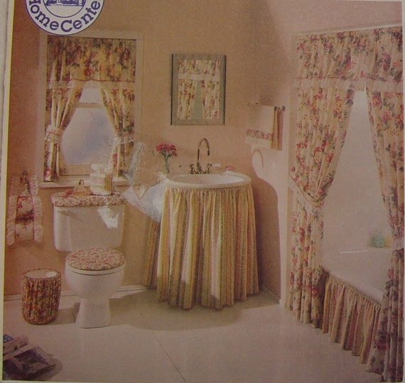 Bathroom decor essentials pattern mccalls home decorating for Bathroom decor essentials