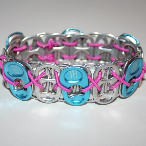 Perfect Chords And Lyrics Pink: Blue Monster Energy Pop Can Tab Bracelet Pink Stretchy String