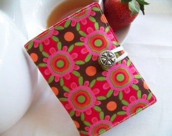 """Full Size Tea Wallet In Michael Miller """"Pretty Bird"""" Designer Fabrics (Your Choice) Great Gift or Party Favor"""
