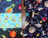 Baby Burp Catchers (burp cloths) Space/Aliens/Robots