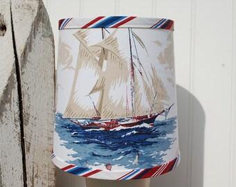 Nautical Ship Drum Lampshade