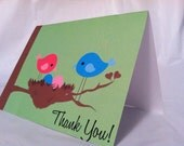 Printable Thank You Cards  - Twins OR Triplets Baby Shower - boy or girl - diy