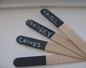 Chalk garden stakes