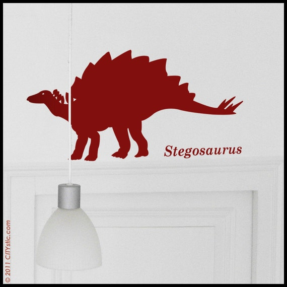 DINOSAUR : Stegosaurus  - Wall Decal