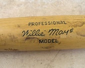 FOR JESS - Vintage Wille Mays Model Professional bat