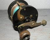 Vintage Bakelite and Metal Fishing Reel