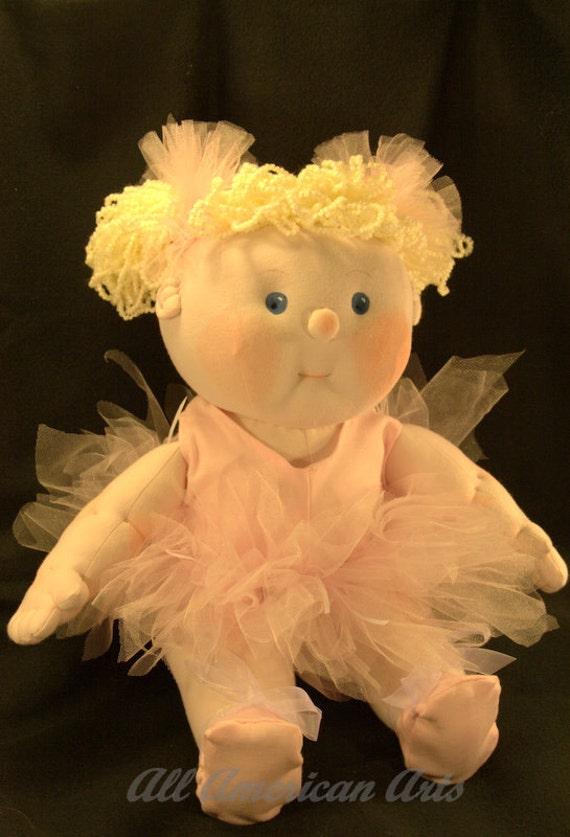 Soft Sculpture Doll Ballerina