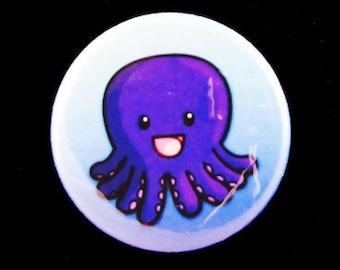 Cute Octopus button