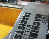 This Machine Kills Fascists-Woody Guthrie Sticker