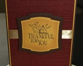 So Thankful for You Card