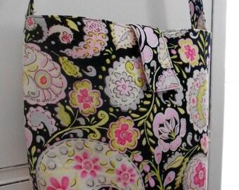 Paisley Messenger Bag