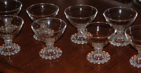 Vintage Anchor Hocking Boopie/Berwick Dessert Cups-Set of 8