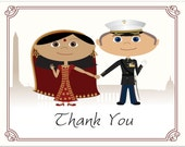 Indian Wedding Thank You Notes