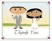 Vineyard Wedding Thank You Notes