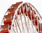 Photo of Ferris Wheel at Navy Pier Entitled Perspective - Fine Art Photo - 12 X 18