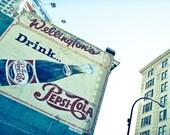 Photo of Vintage Pepsi Billboard  - Fine Art Photo Entitled Vintage Pop - 8 X 12