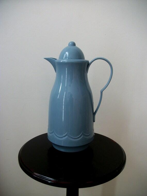 Vintage M. Kamenstein Hot /Cold Carafe (Powder Blue)