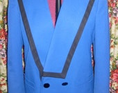 Beautiful Blue Kasper for A.S.L. jacket with black details