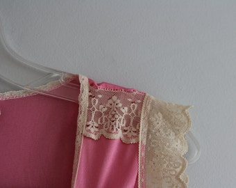 70s Pink Vintage Slip