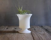 Vintage Milk Glass Urn- EO Brody