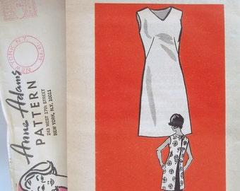 Vintage 60s ANNE ADAMS Mail Order Pattern 4664 Full Apron Size Medium UNCUT