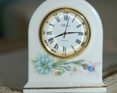 Aynsley.  fine bone china clock