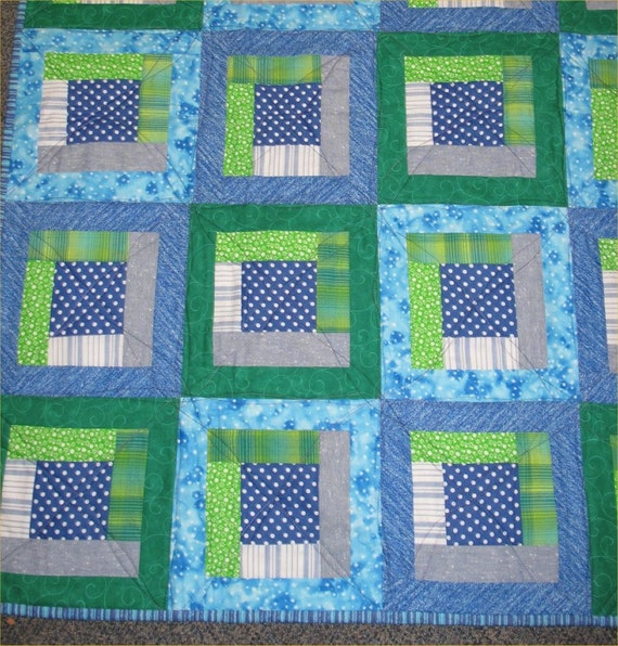 Power to the Polka Dots -- Crib Quilt