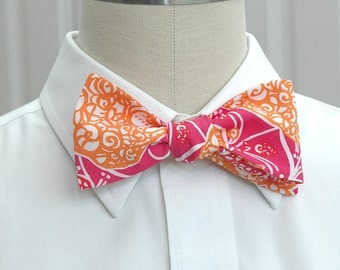 Lilly Bow Tie in Beverly Hills bubbly (self-tie)