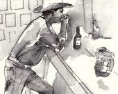 Local Brew - Illustration Print