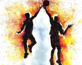 Hot Spot Sports - Watercolor Print