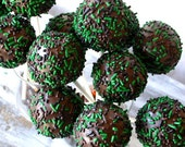 Cake Pops - Camouflage Camo Cake Pop Party Favor Birthday Homecoming Soldier Favors