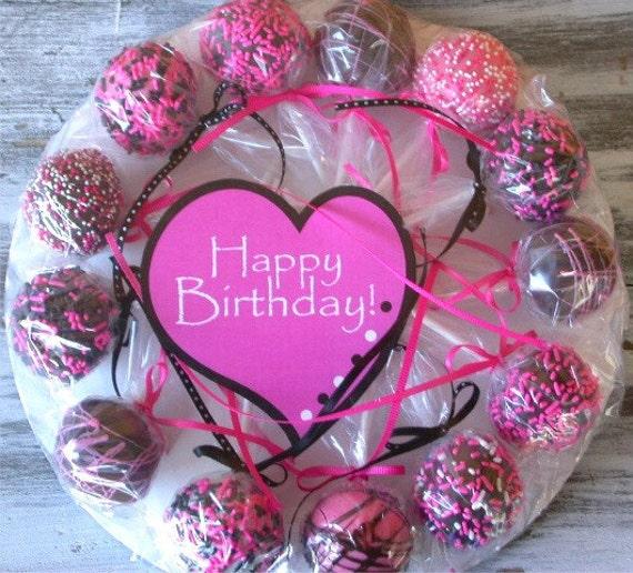 Happy Birthday Cake Pops 13 By IDoDivineDesigns On Etsy