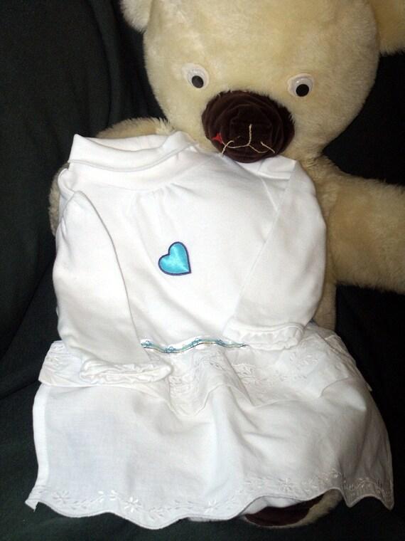 50% Off Sale Baby Girl Onesie Bodysuit with Blue Heart