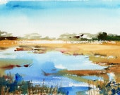 Marsh No.67, limited edition of 50 fine art giclee prints