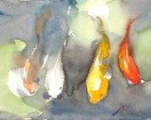 Koi Fish No.14, limited edition of 50 fine art giclee prints