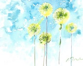 Fresh Pick No.328, limited edition of 50 fine art giclee prints from my original watercolor