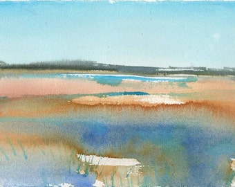 Marsh No.64, limited edition of 50 fine art giclee prints