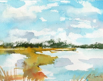 Marsh No.55, limited edition of 50 fine art giclee prints