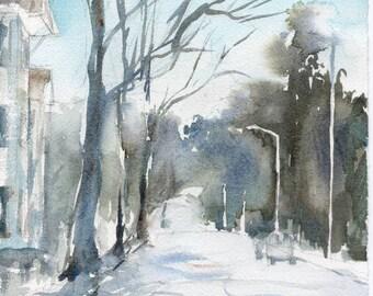 Worcester Sketchbook No.23, limited edition of 50 fine art giclee prints
