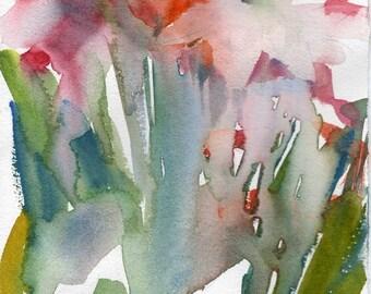 Fresh Pick No.3, original watercolor