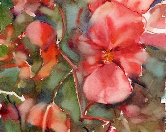 Fresh Pick No.76, limited edition of 50 fine art giclee prints from my original watercolor