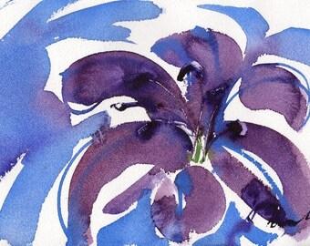 Fresh Pick No.162, original watercolor