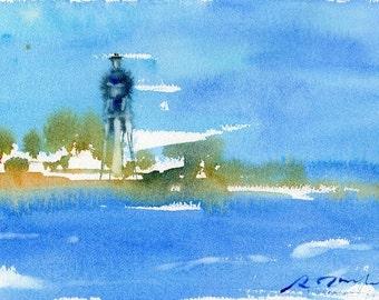 Florida Trip No.11, original watercolor