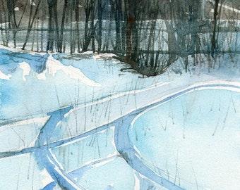 Worcester Sketchbook No.109, limited edition of 50 fine art giclee prints