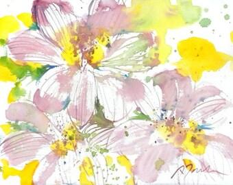 Fresh Pick No.212, 11x15 original watercolor