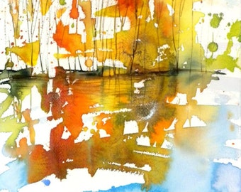 New England Fall-Scape No.19, limited edition of 50 fine art giclee prints