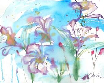Fresh Pick No.251, 11x15, original watercolor