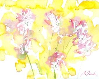 Fresh Pick No.258, 11x15, original watercolor